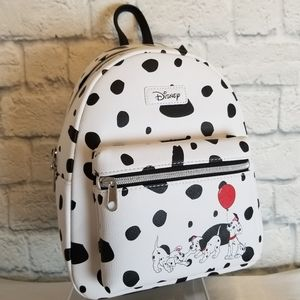 Loungefly 101 Dalmations Disney Pups Mini Backpack